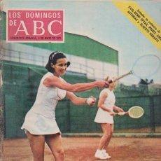 Coleccionismo de Los Domingos de ABC: LOS DOMINGOS DE A B C - 9 MAYO 1971 - PORTADA: TENISTAS ESPAÑOLAS. Lote 91536515