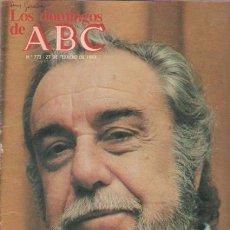 Coleccionismo de Los Domingos de ABC: LOS DOMINGOS DE A B C - 27 FEBRERO 1983 - PORTADA: FERNANDO REY. Lote 95033152