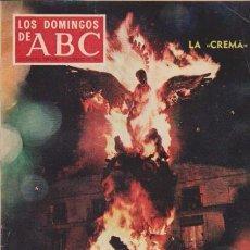 Coleccionismo de Los Domingos de ABC: LOS DOMINGOS DE A B C - 16 MARZO 1969 - PORTADA: FALLAS VALENCIA. Lote 91537150
