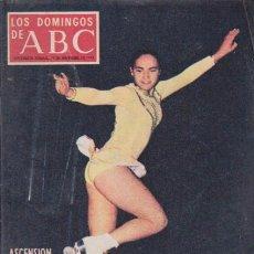 Coleccionismo de Los Domingos de ABC: LOS DOMINGOS DE A B C - 25 NOVIEMBRE 1973 - PORTADA: ASCENSION VILLAGRA. Lote 92032840