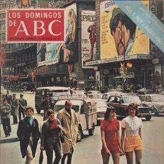 Coleccionismo de Los Domingos de ABC: LOS DOMINGOS DE A B C - 16 MAYO 1971 - PORTADA: MADRID ESPECTACULO. Lote 92032950