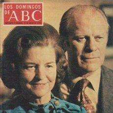 Coleccionismo de Los Domingos de ABC: LOS DOMINGOS DE A B C - 25 MAYO 1975 - PORTADA: GERALD FORD. Lote 92033065