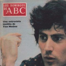 Coleccionismo de Los Domingos de ABC: LOS DOMINGOS DE A B C - 28 SEPTIEMBRE 1975 - PORTADA: URI GELLER. Lote 92033195