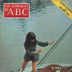 Coleccionismo de Los Domingos de ABC: LOS DOMINGOS DE A B C - 21 MAYO 1972 - PORTADA: REVISION DESGARRADORA. Lote 92033430
