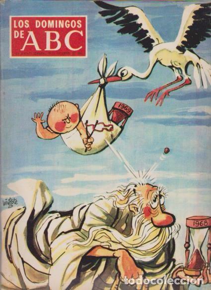 LOS DOMINGOS DE A B C - 29 DICIEMBRE 1968 - PORTADA: NAVIDAD 1968 (Coleccionismo - Revistas y Periódicos Modernos (a partir de 1.940) - Los Domingos de ABC)