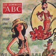 Coleccionismo de Los Domingos de ABC: LOS DOMINGOS DE A B C - 26 DICIEMBRE 1971 - PORTADA: AÑO NUEVO 1972. Lote 92033820