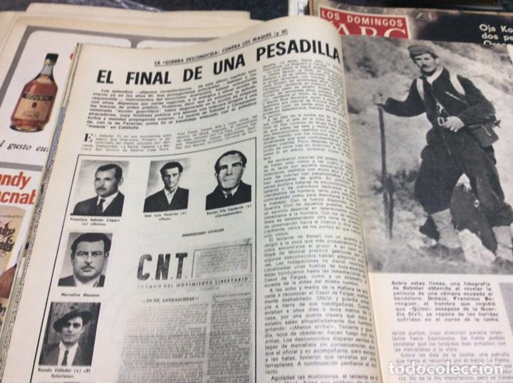 Coleccionismo de Los Domingos de ABC: LOS DOMINGOS DEL ABC (1975) MANOLETE, 1931 EL REY SALE SE PROCLAMA LA REPUBLICA, - Foto 2 - 14463087
