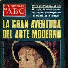 Coleccionismo de Los Domingos de ABC: L21 LOS DOMINGOS DE ABC ~ AÑO 1977 EKL LA GRAN AVENTURA DEL ARTE MODERNO~SUPLEMENTO DOMINICAL DIARIO. Lote 96410155