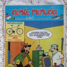 Coleccionismo de Los Domingos de ABC: GENTE MENUDA - REVISTA JUVENIL DE ABC. Lote 97556947