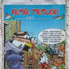 Coleccionismo de Los Domingos de ABC: GENTE MENUDA - REVISTA JUVENIL DE ABC. Lote 97556987