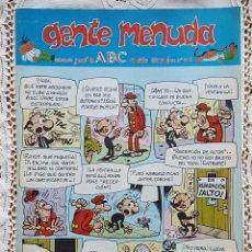 Coleccionismo de Los Domingos de ABC: GENTE MENUDA - REVISTA JUVENIL DE ABC. Lote 97557023