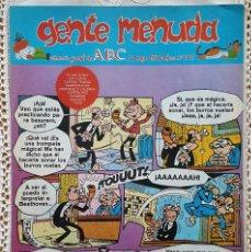 Coleccionismo de Los Domingos de ABC: GENTE MENUDA - REVISTA JUVENIL DE ABC. Lote 97557067
