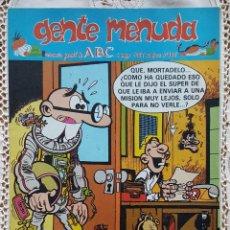 Coleccionismo de Los Domingos de ABC: GENTE MENUDA - REVISTA JUVENIL DE ABC. Lote 97557139