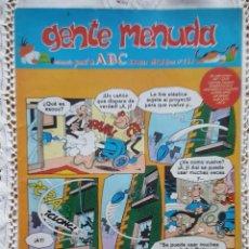 Coleccionismo de Los Domingos de ABC: GENTE MENUDA - REVISTA JUVENIL DE ABC. Lote 97557507