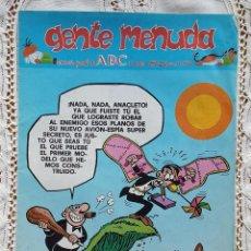 Coleccionismo de Los Domingos de ABC: GENTE MENUDA - REVISTA JUVENIL DE ABC. Lote 97557527