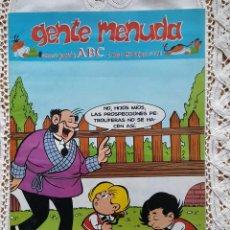 Coleccionismo de Los Domingos de ABC: GENTE MENUDA - REVISTA JUVENIL DE ABC. Lote 97557683
