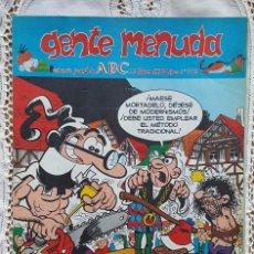 Coleccionismo de Los Domingos de ABC: GENTE MENUDA - REVISTA JUVENIL DE ABC. Lote 97557719