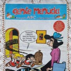 Coleccionismo de Los Domingos de ABC: GENTE MENUDA - REVISTA JUVENIL DE ABC. Lote 97557903