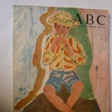 Coleccionismo de Los Domingos de ABC: PERIODICOS Y REVISTAS - A B C NUMERO ALMANAQUE 1956-1957 30 DICIEMBRE DE 1956 MUCHOS ANUNCIOS. Lote 98137079