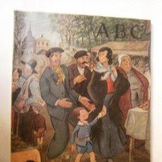 Coleccionismo de Los Domingos de ABC: PERIODICOS REVISTAS - NUMERO EXTRAORDINARIO ABC MAYO 1958 30X23 CM. Lote 98137519