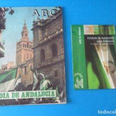 Coleccionismo de Los Domingos de ABC: ABC SUPLEMENTO ESPECIAL DEDICADO AL DÍA DE ANDALUCÍA - SEVILLA 4 DICIEMBRE 1979 + ESTATUTO. Lote 98943703