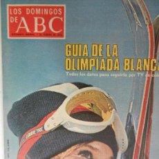 Coleccionismo de Los Domingos de ABC: LOS DOMINGOS DE ABC 1 DE FEBRERO DE 1976.. Lote 98983739
