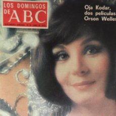 Coleccionismo de Los Domingos de ABC: LOS DOMINGOS DE ABC 29 DE JUNIO DE 1975.. Lote 98984215