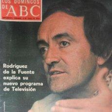Collectionnisme de Los Domingos de ABC: LOS DOMINGOS DE ABC 6 DE JULIO DE 1975.. Lote 190111701