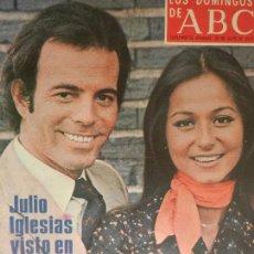 Coleccionismo de Los Domingos de ABC: LOS DOMINGOS DE ABC 20 DE JULIO DE 1975.. Lote 98984723