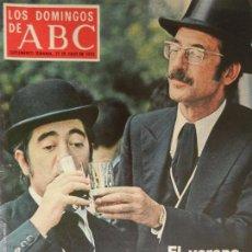 Coleccionismo de Los Domingos de ABC: LOS DOMINGOS DE ABC 27 DE JULIO DE 1975.. Lote 98984787