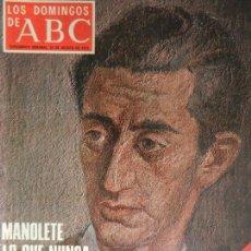 Coleccionismo de Los Domingos de ABC: LOS DOMINGOS DE ABC 24 DE AGOSTO DE 1975.. Lote 98985011
