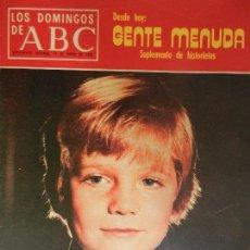 Coleccionismo de Los Domingos de ABC: LOS DOMINGOS DE ABC 11 DE ENERO DE 1976.. Lote 98985195
