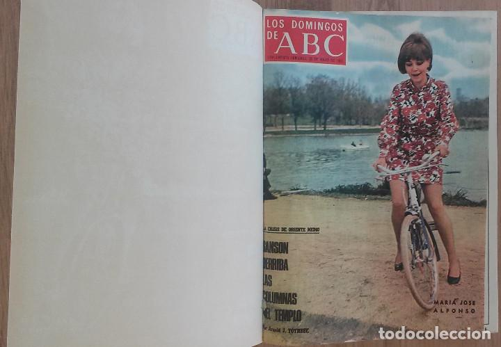 LOS DOMINGOS DE ABC TOMO 12 NUMEROS JULIO-DICIEMBRE 1969 MUY BUEN ESTADO ( VER FOTOGRAFIAS) (Coleccionismo - Revistas y Periódicos Modernos (a partir de 1.940) - Los Domingos de ABC)