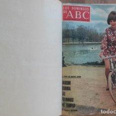 Coleccionismo de Los Domingos de ABC: LOS DOMINGOS DE ABC TOMO 12 NUMEROS JULIO-DICIEMBRE 1969 MUY BUEN ESTADO ( VER FOTOGRAFIAS). Lote 100291747