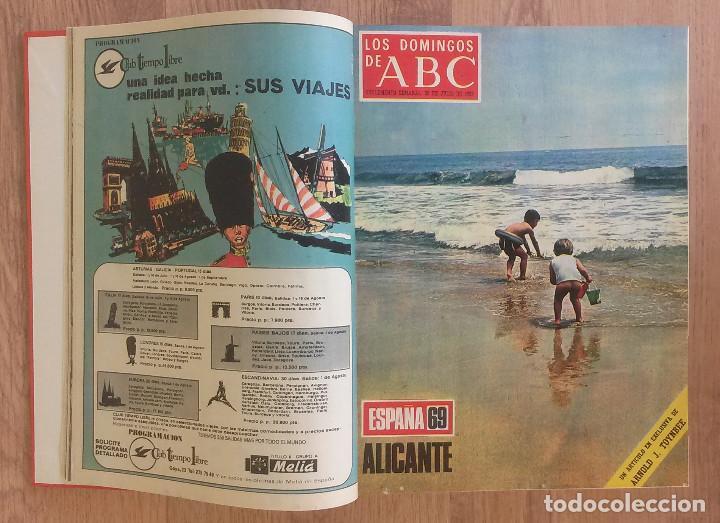 Coleccionismo de Los Domingos de ABC: Los Domingos de ABC TOMO 12 NUMEROS Julio-Diciembre 1969 Muy buen estado ( Ver fotografias) - Foto 2 - 100291747