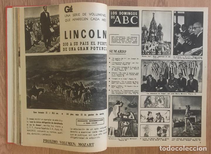 Coleccionismo de Los Domingos de ABC: Los Domingos de ABC TOMO 12 NUMEROS Julio-Diciembre 1969 Muy buen estado ( Ver fotografias) - Foto 3 - 100291747