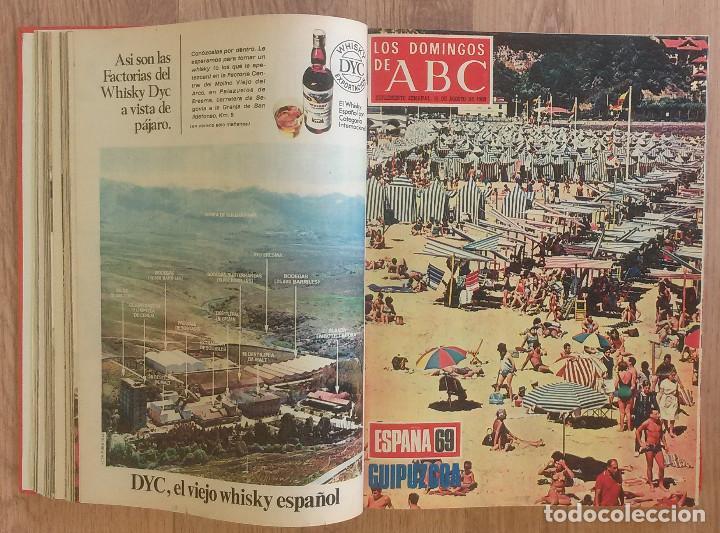 Coleccionismo de Los Domingos de ABC: Los Domingos de ABC TOMO 12 NUMEROS Julio-Diciembre 1969 Muy buen estado ( Ver fotografias) - Foto 4 - 100291747