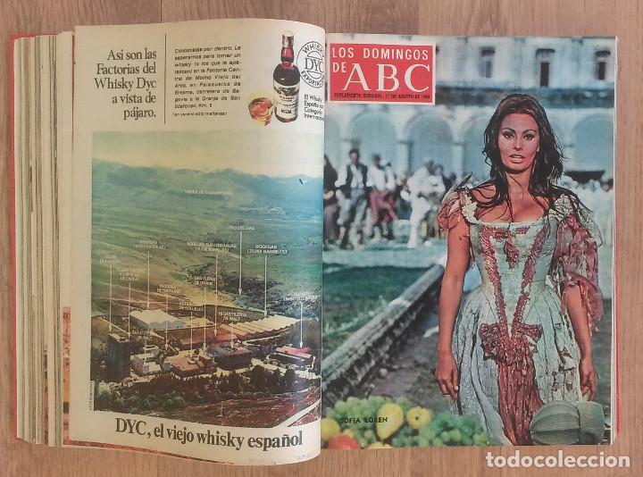 Coleccionismo de Los Domingos de ABC: Los Domingos de ABC TOMO 12 NUMEROS Julio-Diciembre 1969 Muy buen estado ( Ver fotografias) - Foto 8 - 100291747
