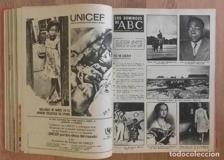 Coleccionismo de Los Domingos de ABC: Los Domingos de ABC TOMO 12 NUMEROS Julio-Diciembre 1969 Muy buen estado ( Ver fotografias) - Foto 9 - 100291747