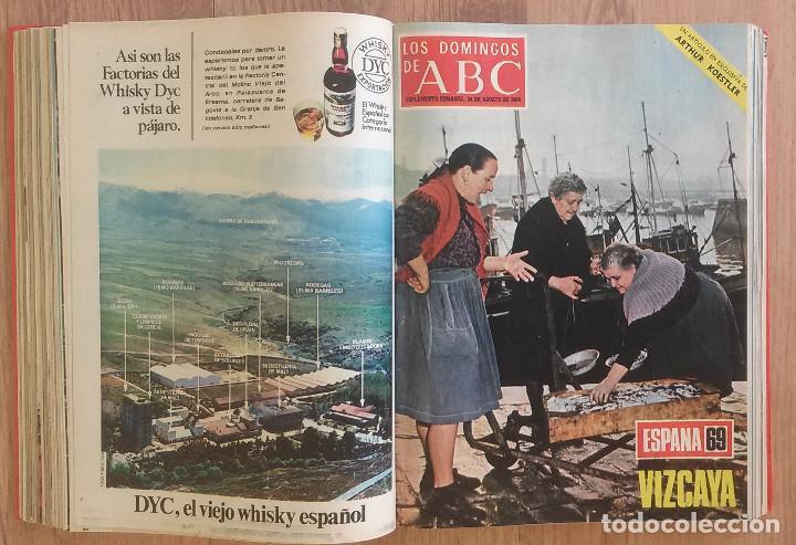 Coleccionismo de Los Domingos de ABC: Los Domingos de ABC TOMO 12 NUMEROS Julio-Diciembre 1969 Muy buen estado ( Ver fotografias) - Foto 13 - 100291747