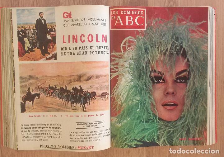 Coleccionismo de Los Domingos de ABC: Los Domingos de ABC TOMO 12 NUMEROS Julio-Diciembre 1969 Muy buen estado ( Ver fotografias) - Foto 15 - 100291747