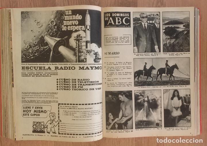 Coleccionismo de Los Domingos de ABC: Los Domingos de ABC TOMO 12 NUMEROS Julio-Diciembre 1969 Muy buen estado ( Ver fotografias) - Foto 16 - 100291747