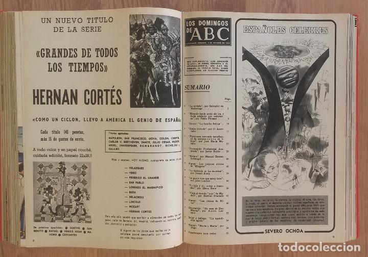 Coleccionismo de Los Domingos de ABC: Los Domingos de ABC TOMO 12 NUMEROS Julio-Diciembre 1969 Muy buen estado ( Ver fotografias) - Foto 18 - 100291747