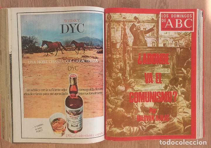 Coleccionismo de Los Domingos de ABC: Los Domingos de ABC TOMO 12 NUMEROS Julio-Diciembre 1969 Muy buen estado ( Ver fotografias) - Foto 19 - 100291747