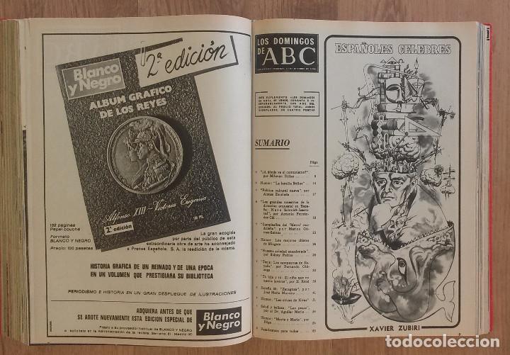 Coleccionismo de Los Domingos de ABC: Los Domingos de ABC TOMO 12 NUMEROS Julio-Diciembre 1969 Muy buen estado ( Ver fotografias) - Foto 20 - 100291747
