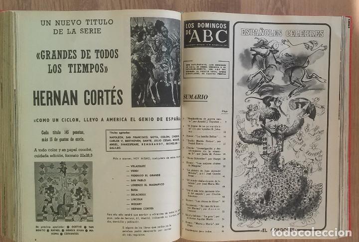 Coleccionismo de Los Domingos de ABC: Los Domingos de ABC TOMO 12 NUMEROS Julio-Diciembre 1969 Muy buen estado ( Ver fotografias) - Foto 22 - 100291747