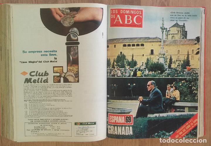 Coleccionismo de Los Domingos de ABC: Los Domingos de ABC TOMO 12 NUMEROS Julio-Diciembre 1969 Muy buen estado ( Ver fotografias) - Foto 23 - 100291747
