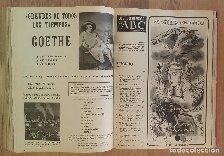 Coleccionismo de Los Domingos de ABC: Los Domingos de ABC TOMO 12 NUMEROS Julio-Diciembre 1969 Muy buen estado ( Ver fotografias) - Foto 24 - 100291747