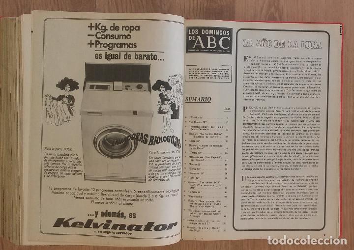 Coleccionismo de Los Domingos de ABC: Los Domingos de ABC TOMO 12 NUMEROS Julio-Diciembre 1969 Muy buen estado ( Ver fotografias) - Foto 28 - 100291747