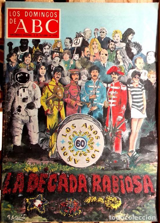 LOS DOMINGOS DE ABC, 18 SUPLEMENTOS SEMANALES 1974-79 EXCELENTE ESTADO - CLC (Coleccionismo - Revistas y Periódicos Modernos (a partir de 1.940) - Los Domingos de ABC)